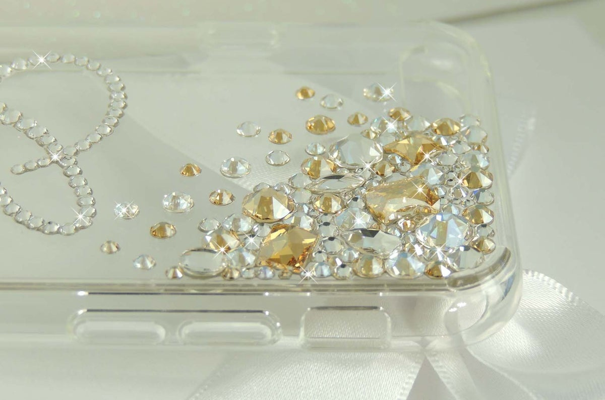 Image of Cascade Crystal Gold Jewel