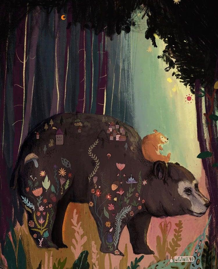 Image of • autumn bear •