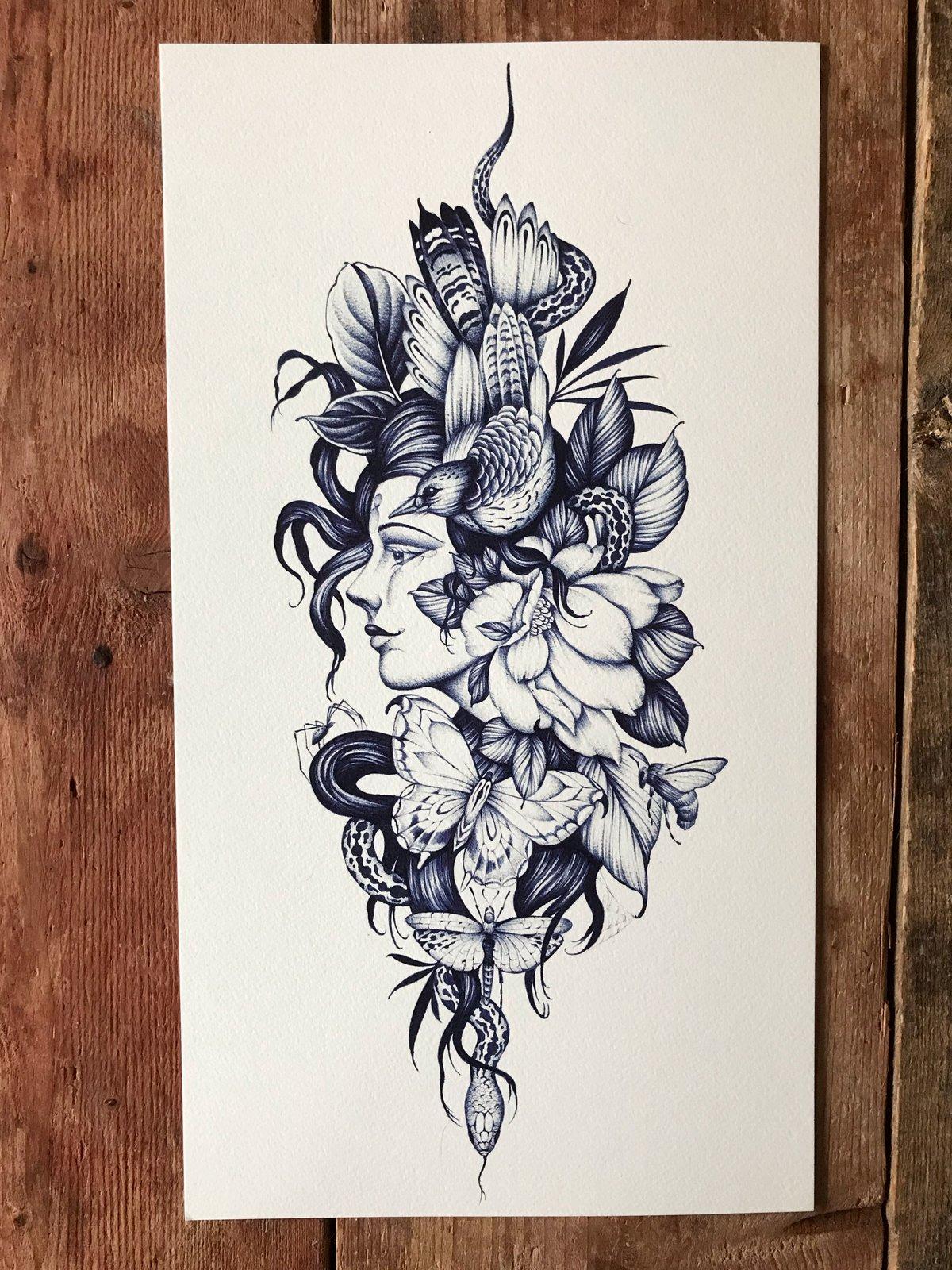 Print Natural beauty