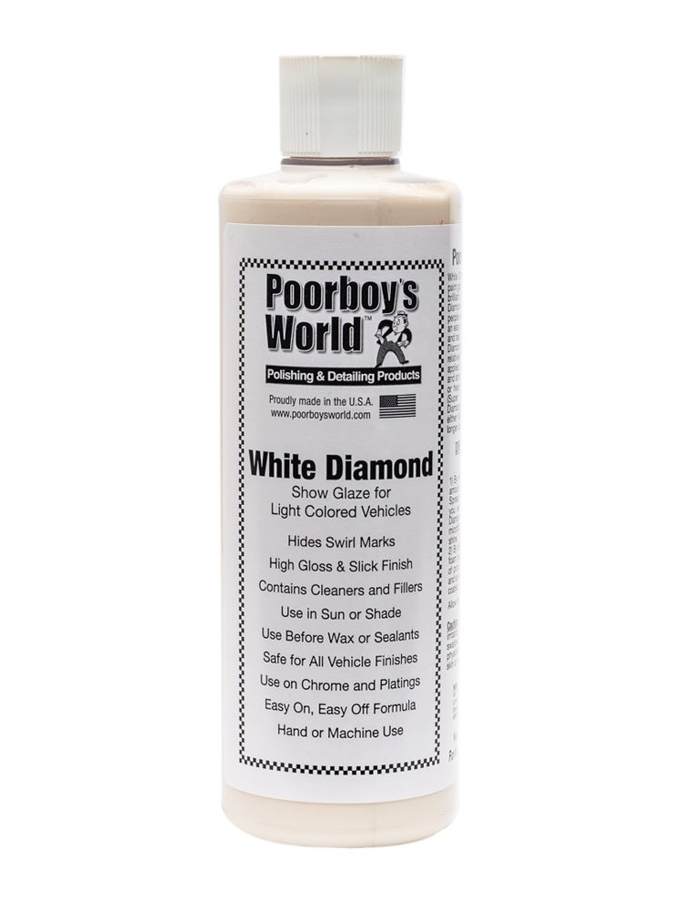 Image of Poorboy's World White Diamond 16oz (473ml)