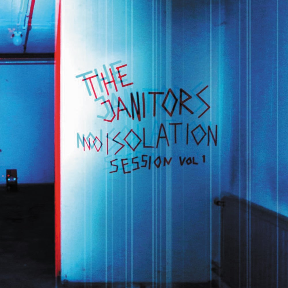 Image of The Janitors - Noisolation Session vol.1 (Transparent Blue Vinyl) CARDINAL FUZZ - 1 LEFT