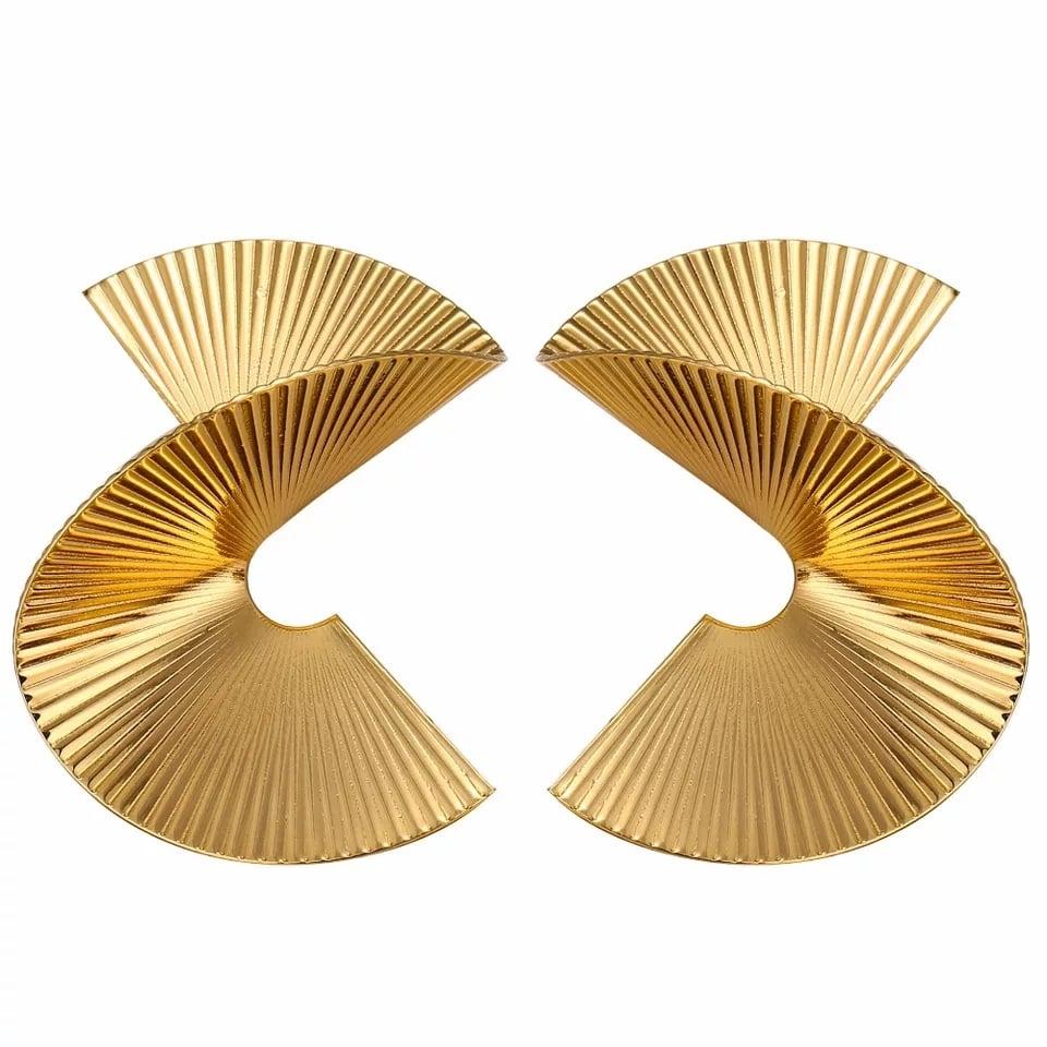 Image of Badu Spiral Earrings