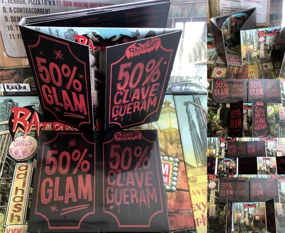 """RATPENAT - """"50% Glam 50% Clavegueram"""" Digipack CD"""