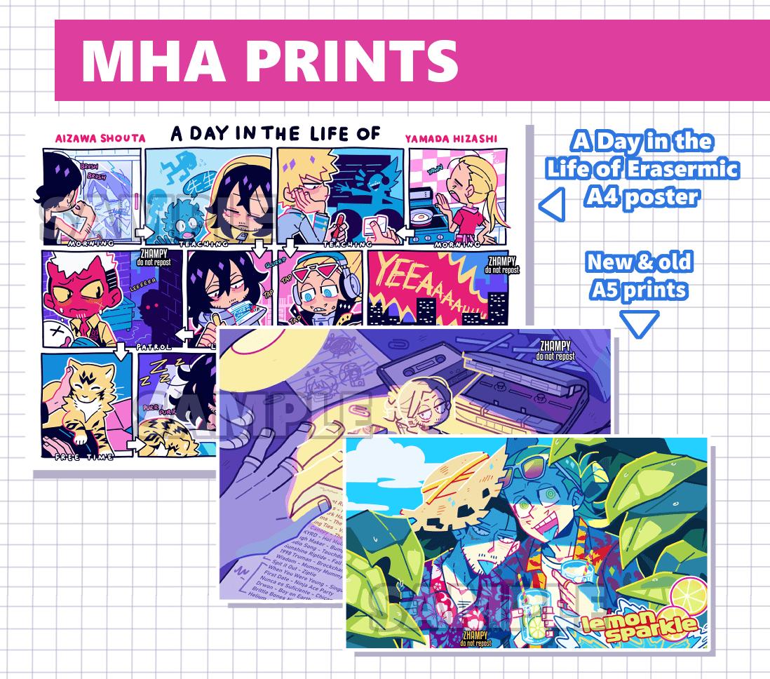 Image of MHA Prints