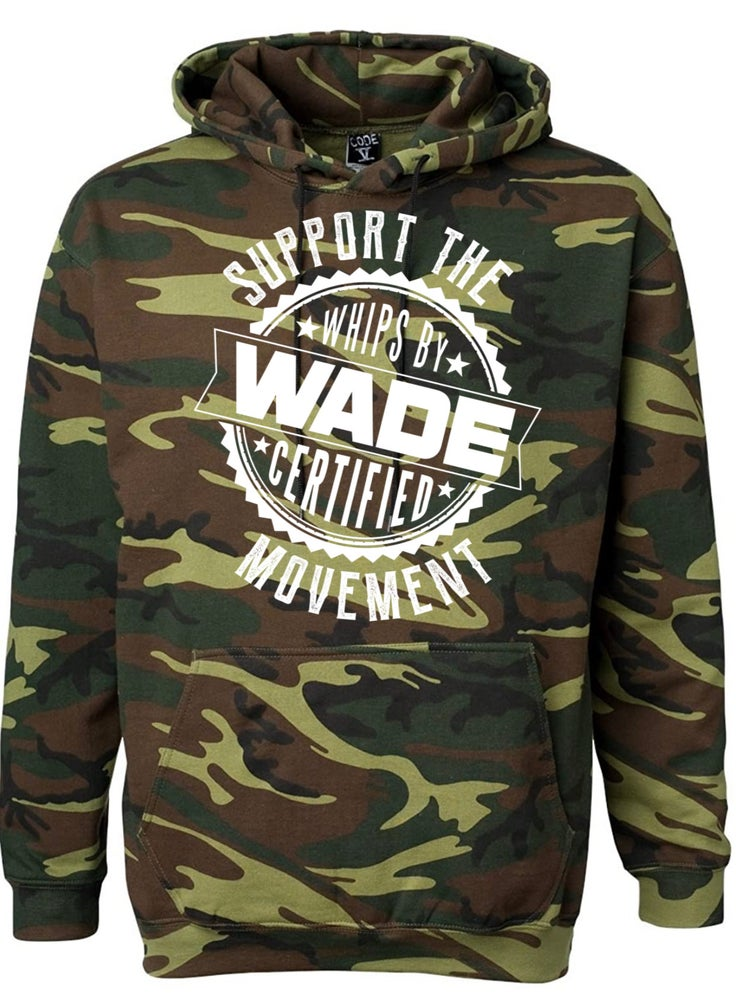 Image of Camo Support The Movement Hoodie : PRE-ORDER