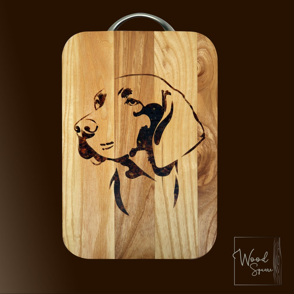 Image of Labrador Chopping board