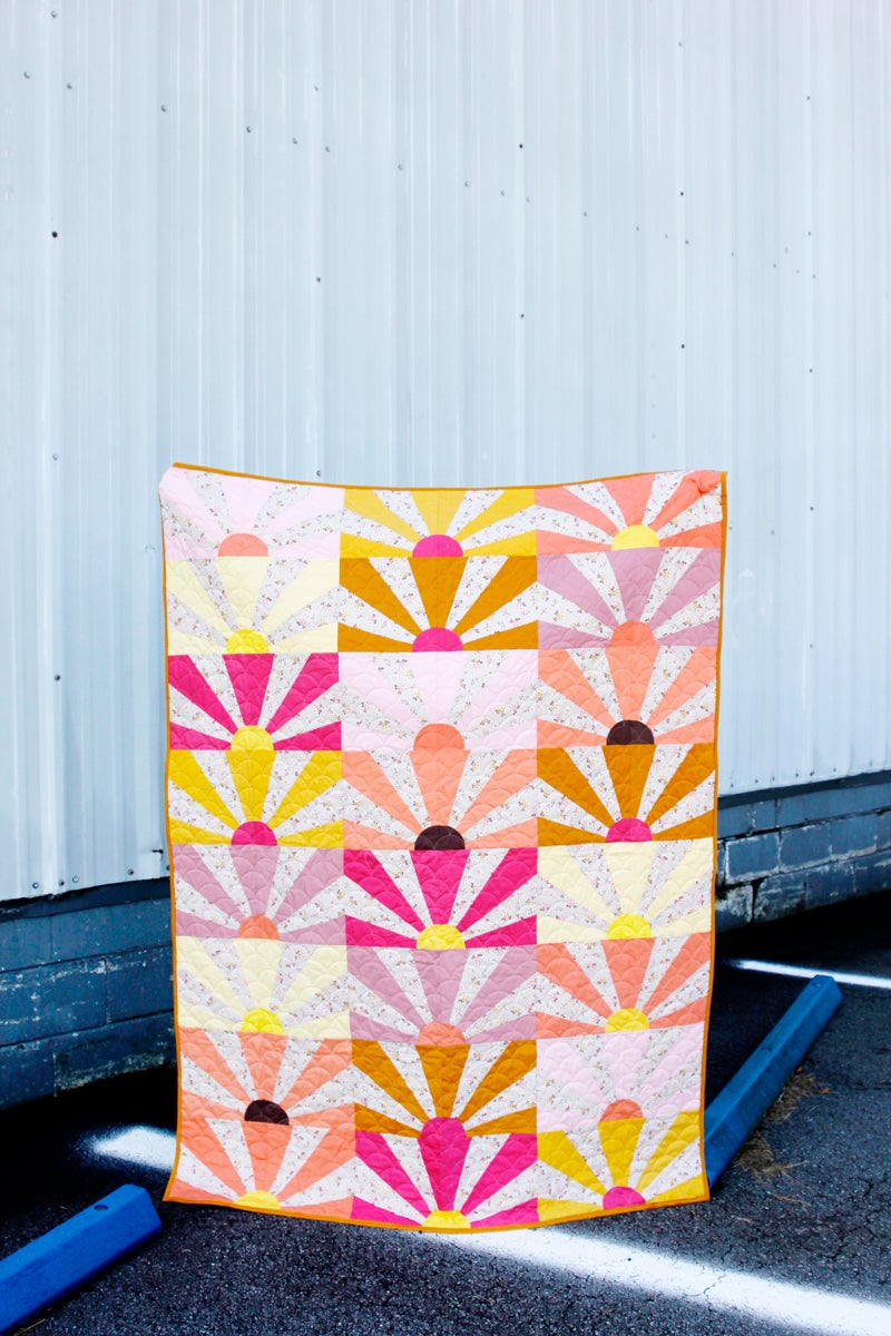 Image of SUNNY DAYS AHEAD quilt PDF