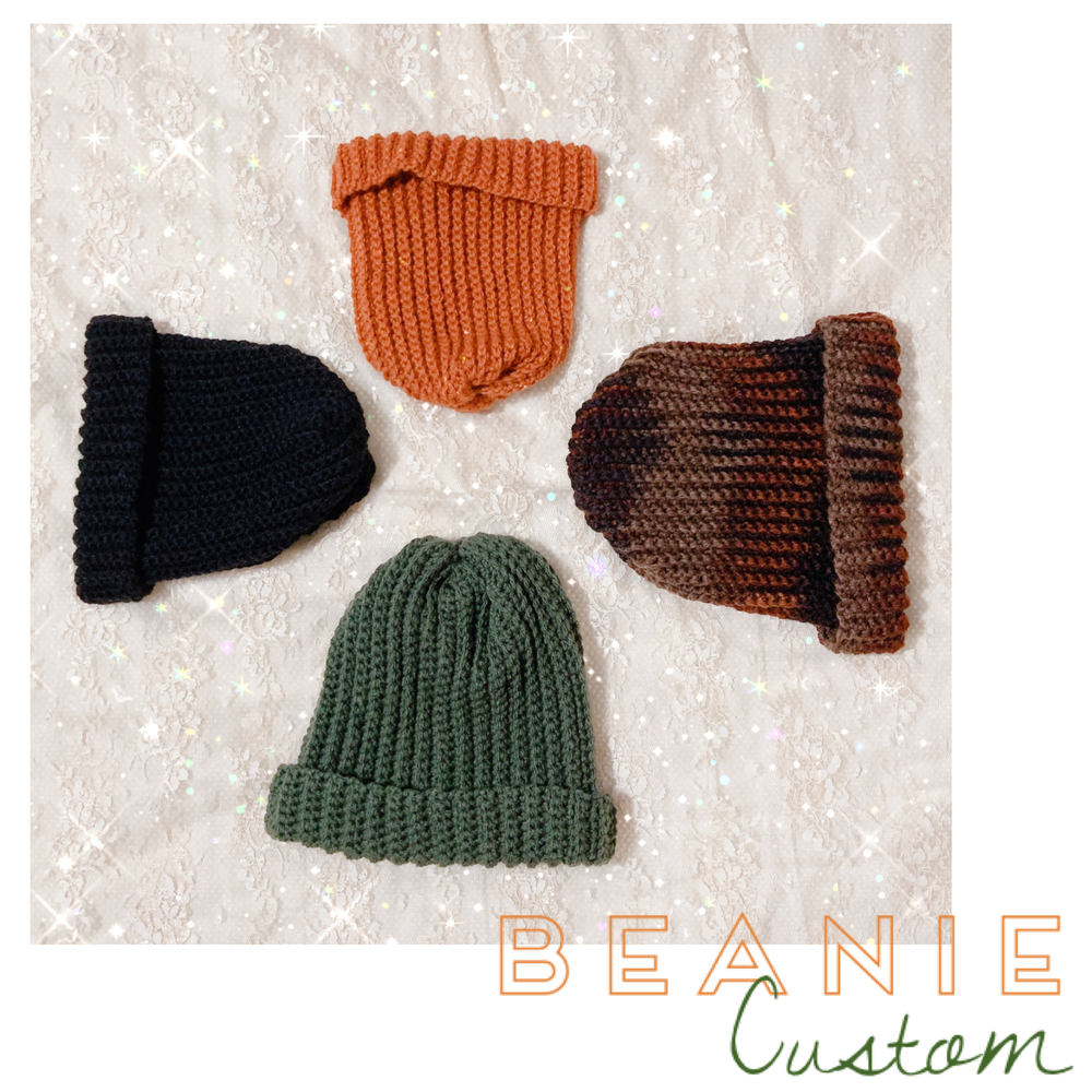 "Image of ""beanie bb� custom"