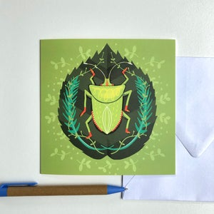 Greeting Card - Shieldbug