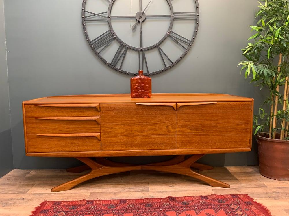 Image of Mid Century Organic Beithcraft Teak Sideboard