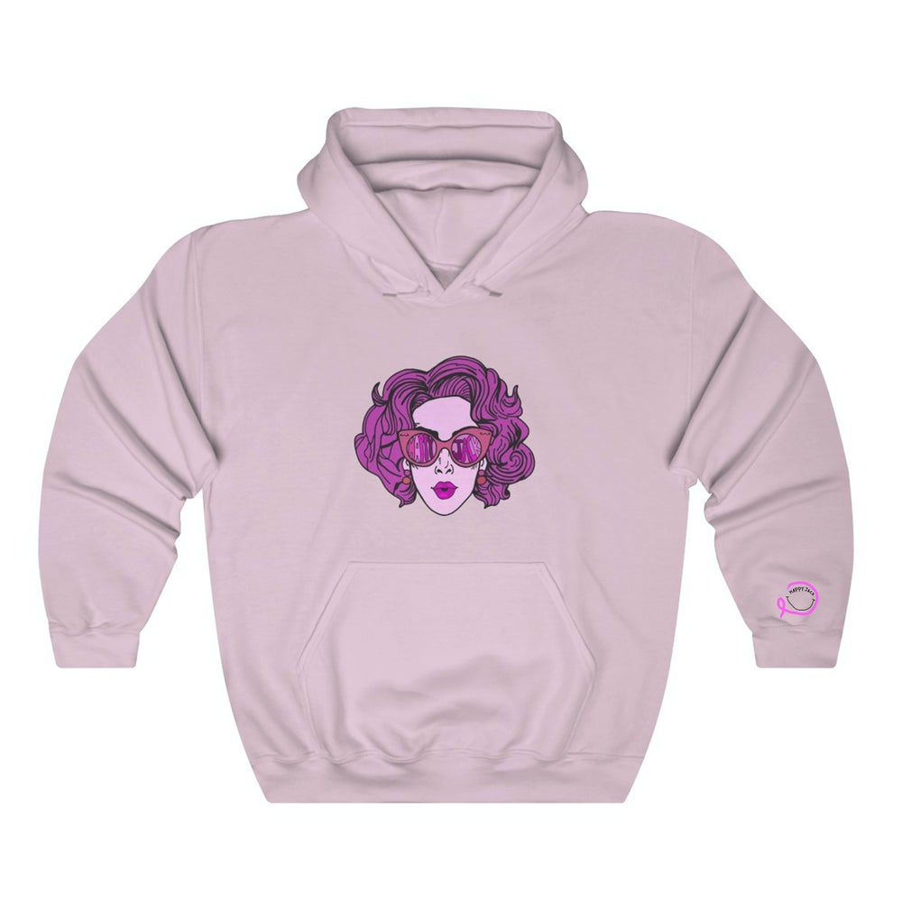 Image of Pink Lady Breast Cancer Awareness hoodie