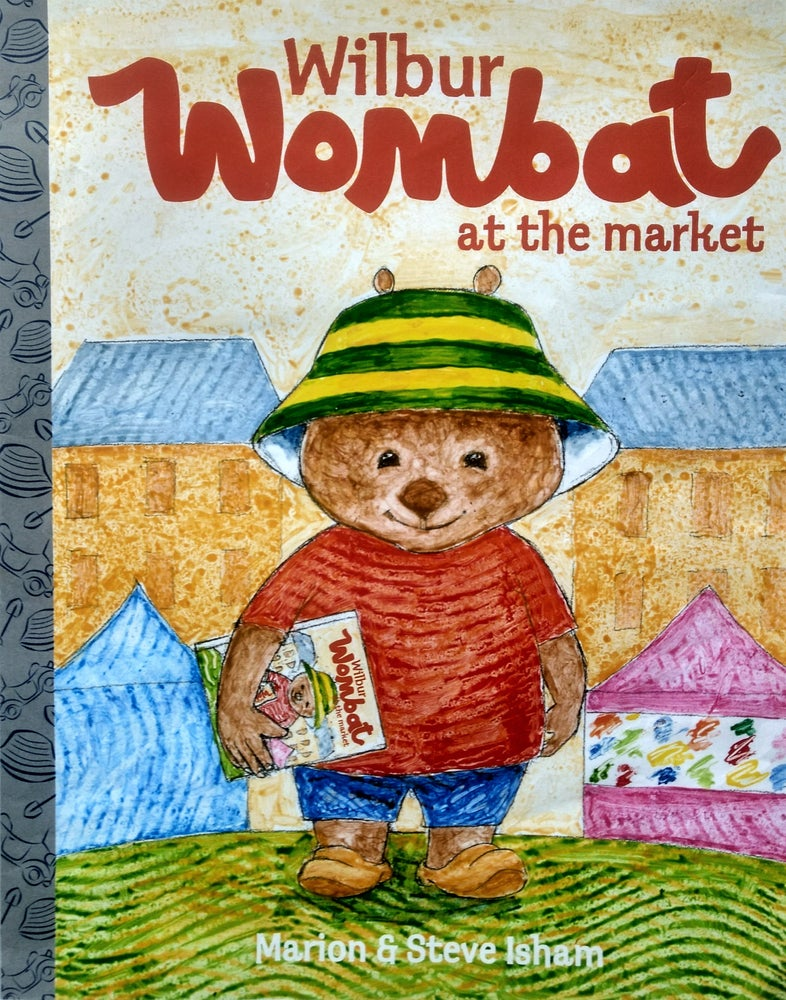 Image of Wilbur Wombat at the Market