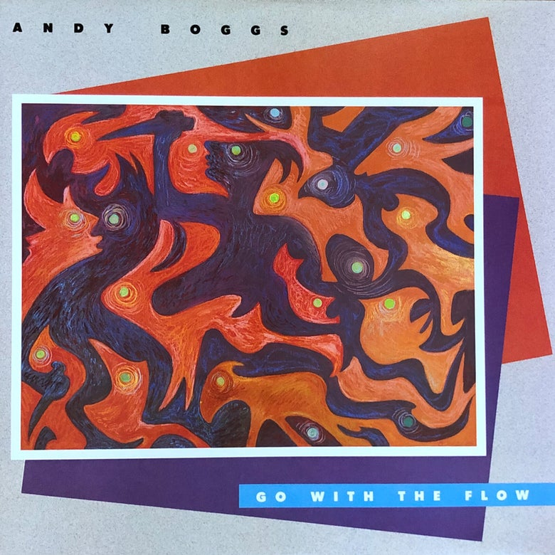 Image of Andy Boggs ‎– Go With The Flow LP