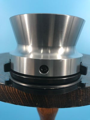 "Image of Burlington Recording Professional Silver 1/4"" NAB Hub Adapters with Aluminum Trumpet (PAIR)"