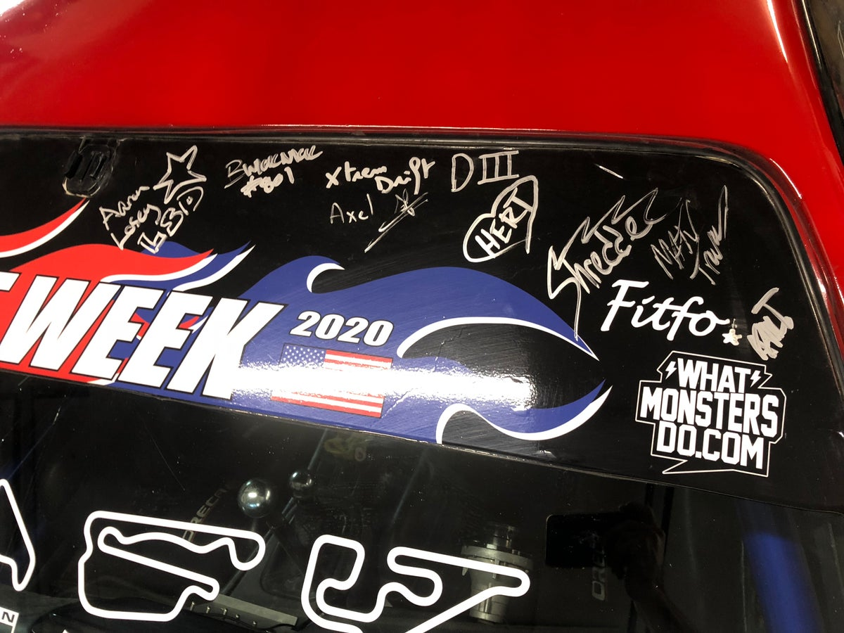 Image of DRIFTWEEK WINDSHIELD