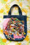 crunch embroidery bag