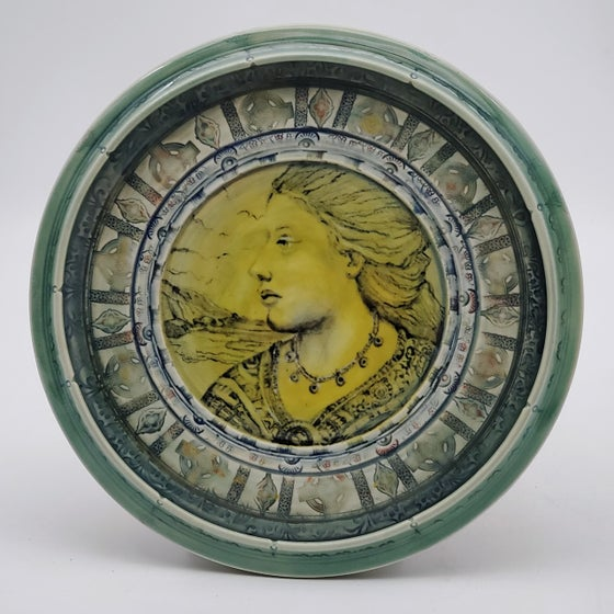 Image of Portrait of Sappho in Porcelain