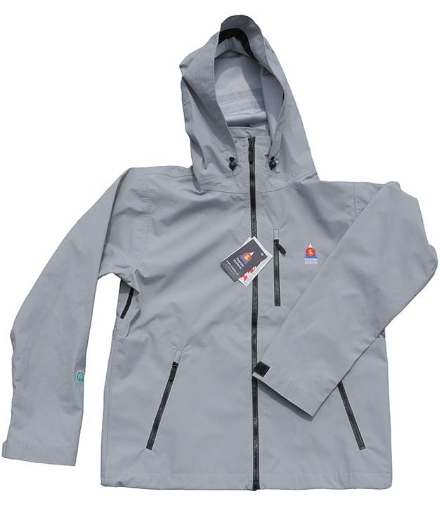 Image of Antero II Plus Hardshell Polartec Neoshell Jacket Cloud Gray