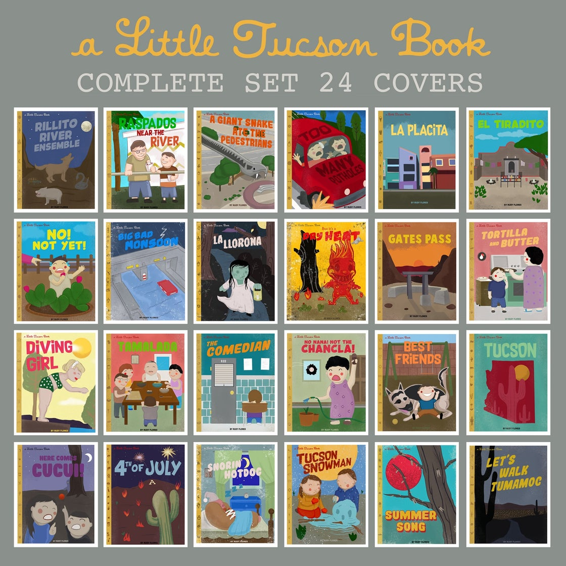 Image of A Little Tucson Book covers Complete Set