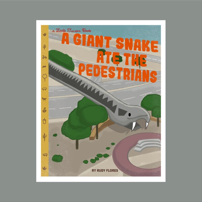 Image of A Giant Snake Ate the Pedestrians