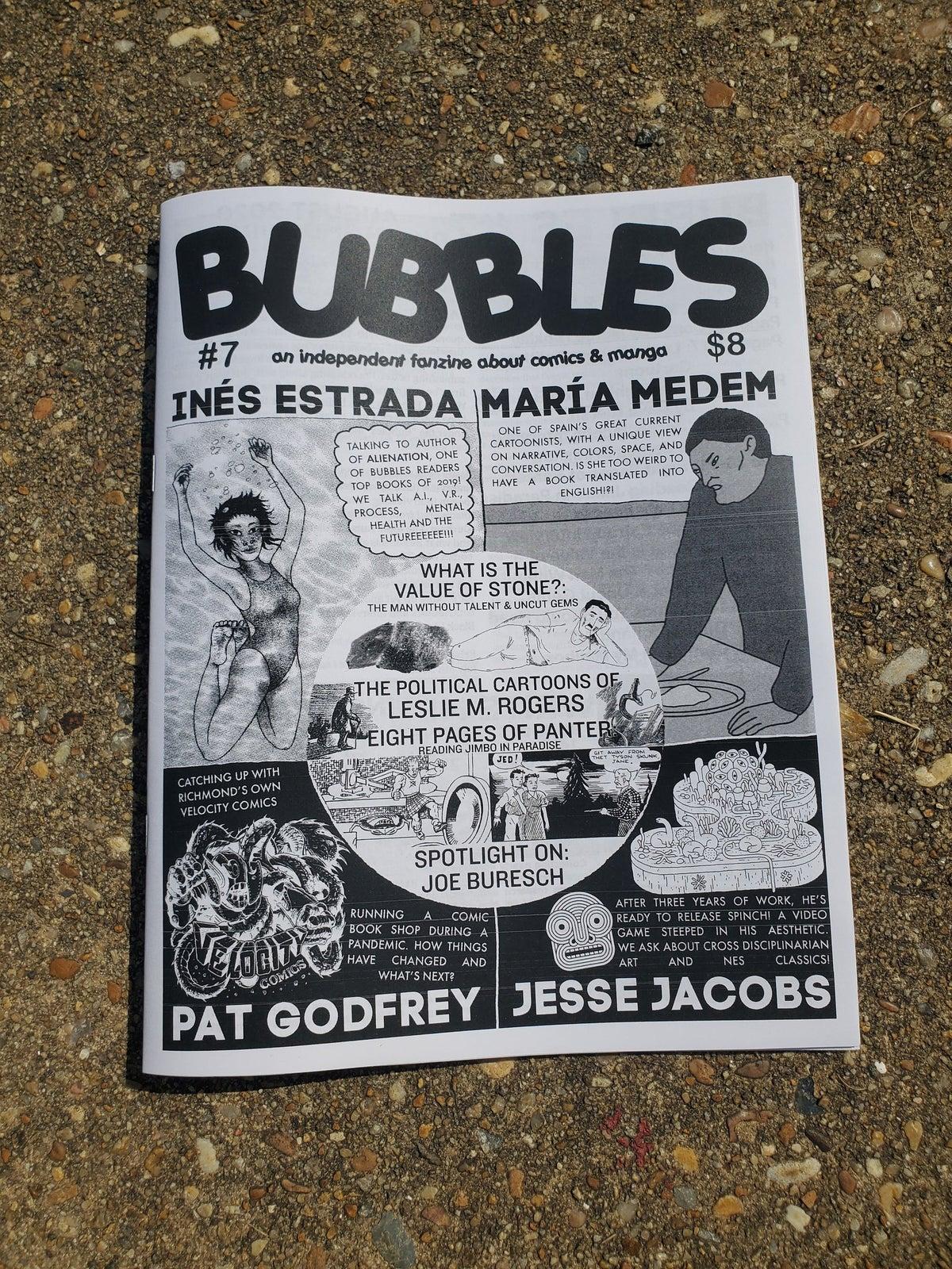 Image of Bubbles Zine #7