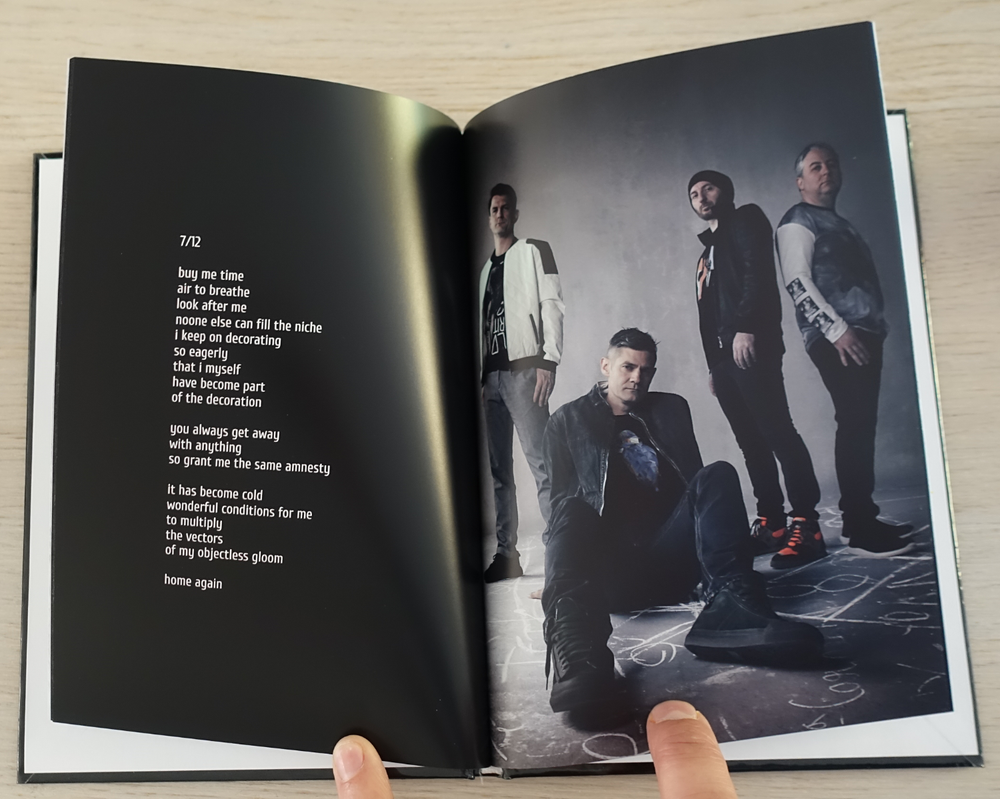 Image of photo book | a backward poetry countdown