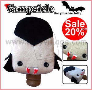 Image of Vampsicle the plushie lolly