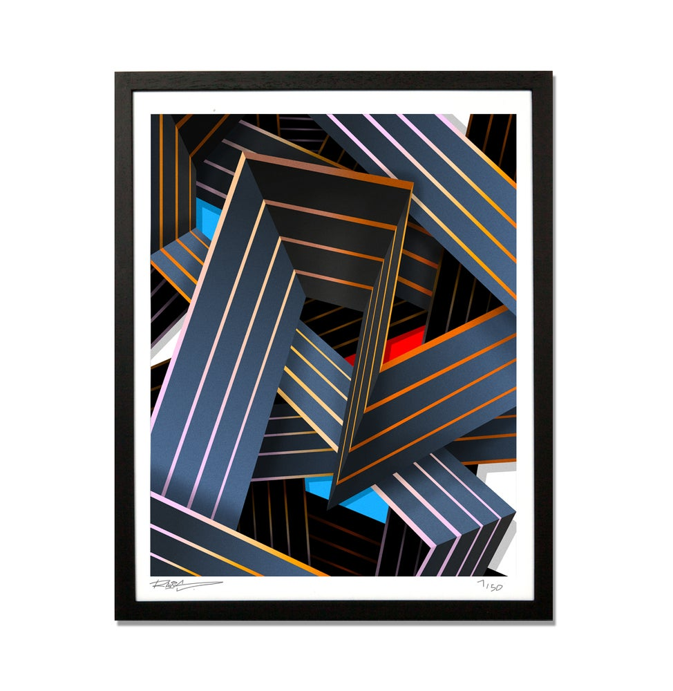 Image of CHAOS | LIMITED GICLEE PRINT