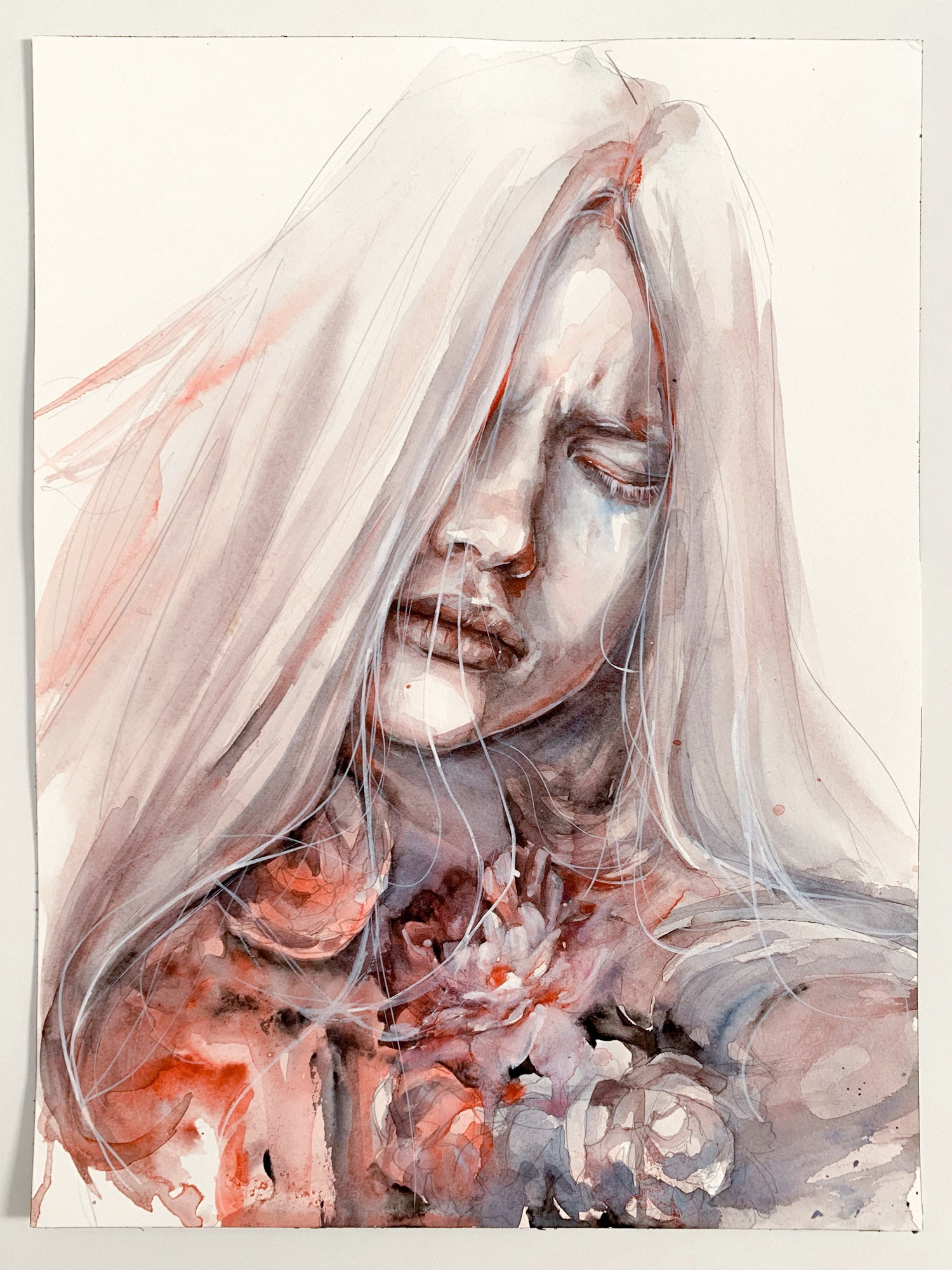 Agnes-Cecile the muted tone