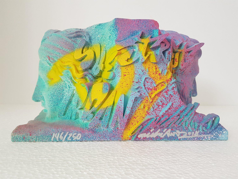"""Image of PICHIAVO """"HYBRID PYSCHE"""" -  UNIQUE SCULPTURE EDITION OF 250 - 28CM X 17CM X 15CM"""