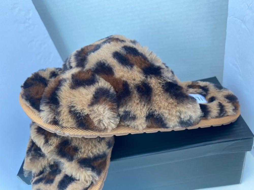 Image of Leopard Slipper