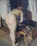 20th Century Swedish Artist 'Nude in the Studio, 1922'