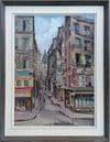 Mid-century Modern Swedish Artist 'Rue de Bièvre, Paris'