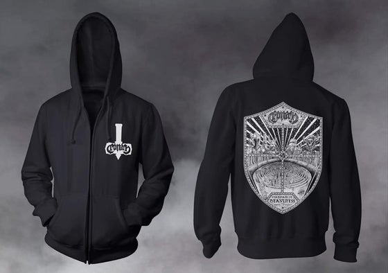 Image of SALE STOCK - GUARDIANS OF HEAVINESS HOODIE S/M/L