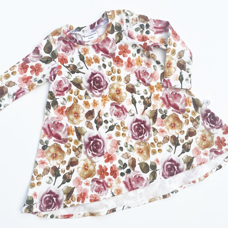 Image of *NEW* British Garden Dress (Long Sleeve)