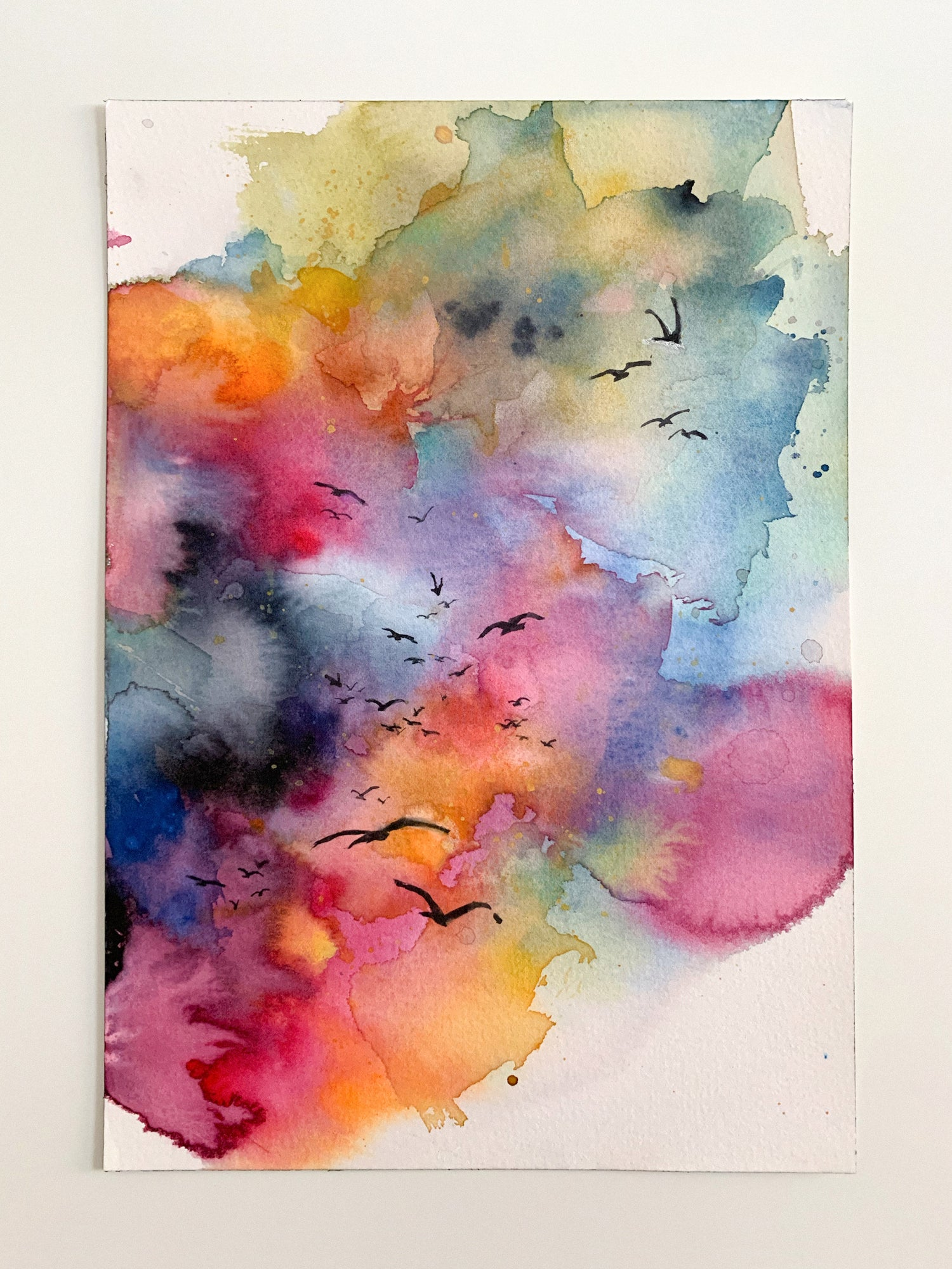Agnes-Cecile rainbow skies