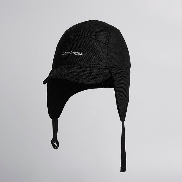 Image of NOZZLE QUIZ - 5-Panel Fly Cap (Black)
