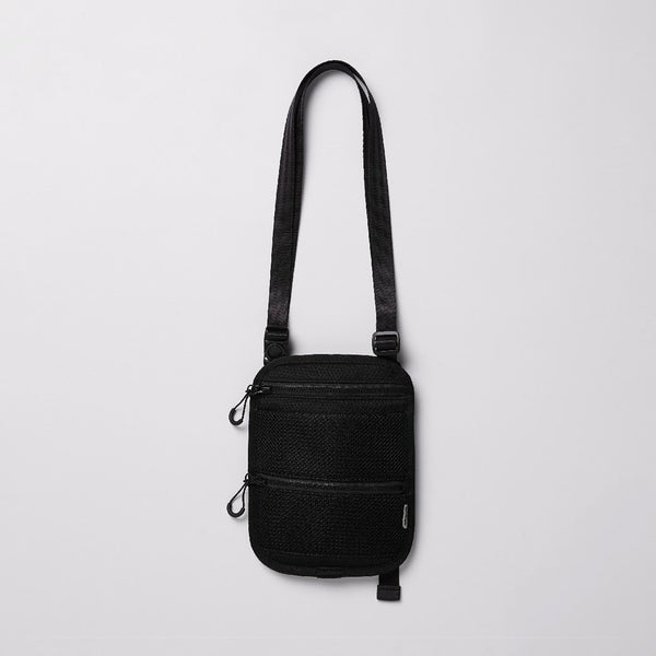 Image of NOZZLE QUIZ - Sacoche Crossbody Bag (Black)