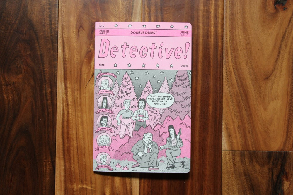 Image of Detective! Double Digest by Pete Faecke and Drew Lerman
