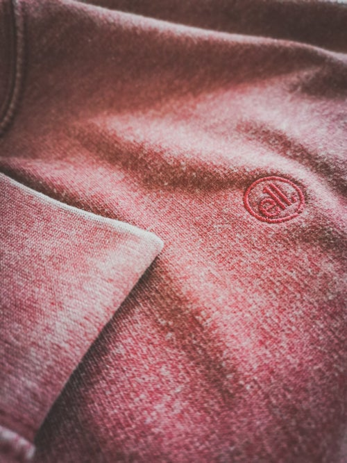 Image of E11evens - Burgundy washed/warn style sweaters