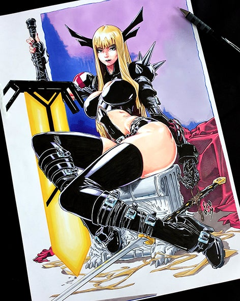 Image of MAGIK - X-MEN