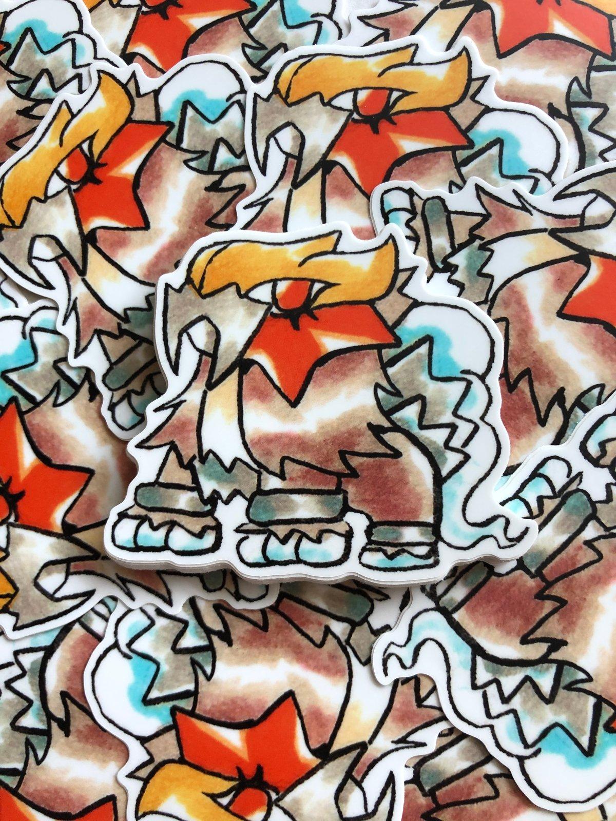 Image of Entei Sticker
