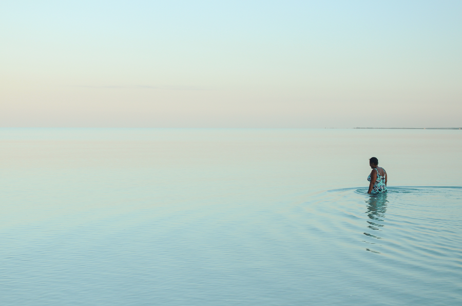 Image of Early Morning Dip