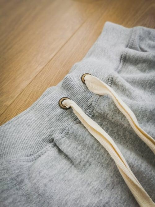 Image of E11evens - Grey campus style shorts