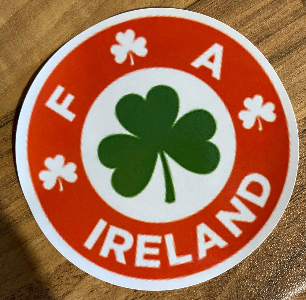 Ireland Retro Crest stickers type 2