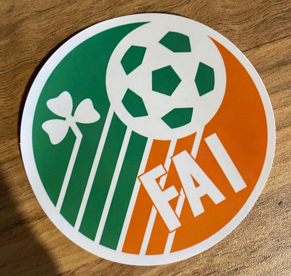 Ireland Retro crest stickers type 1