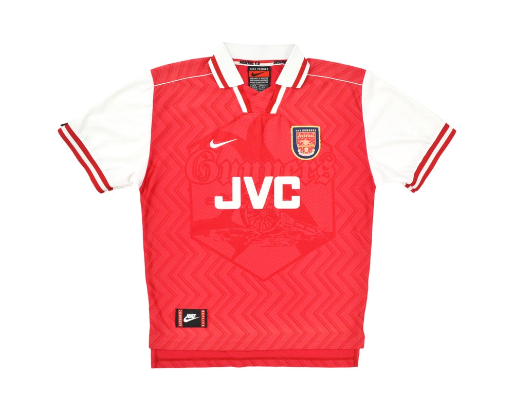 Image of 1996-98 Nike Arsenal Home Shirt M