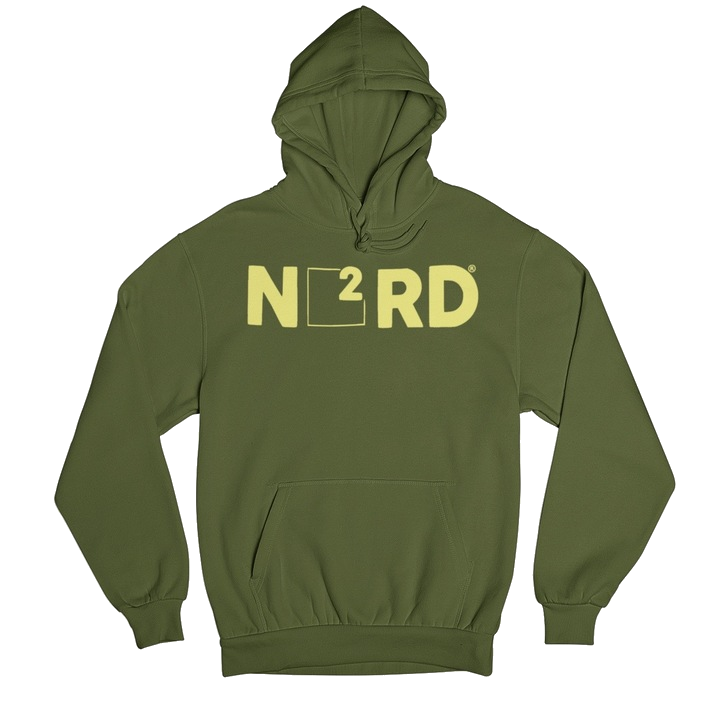 Image of Military Green N2RD Hoodie