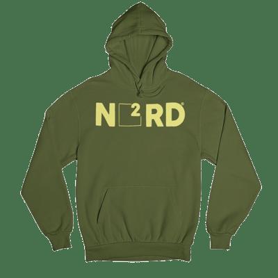 Image of Military Green N2RD Hoodie