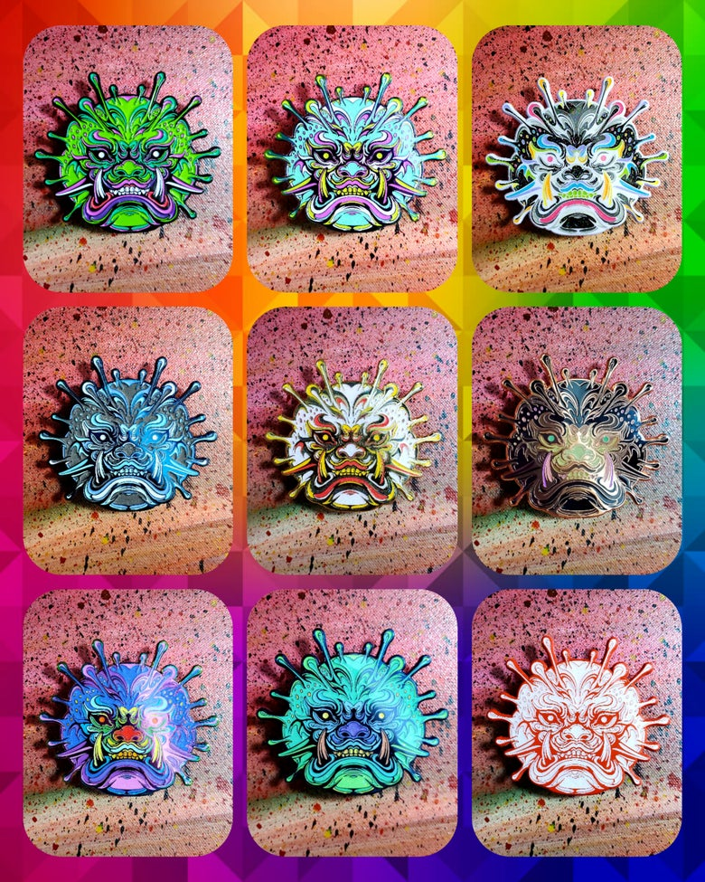 Image of ☣🦠👹 Virus-O Collectors Set 👹🦠☣